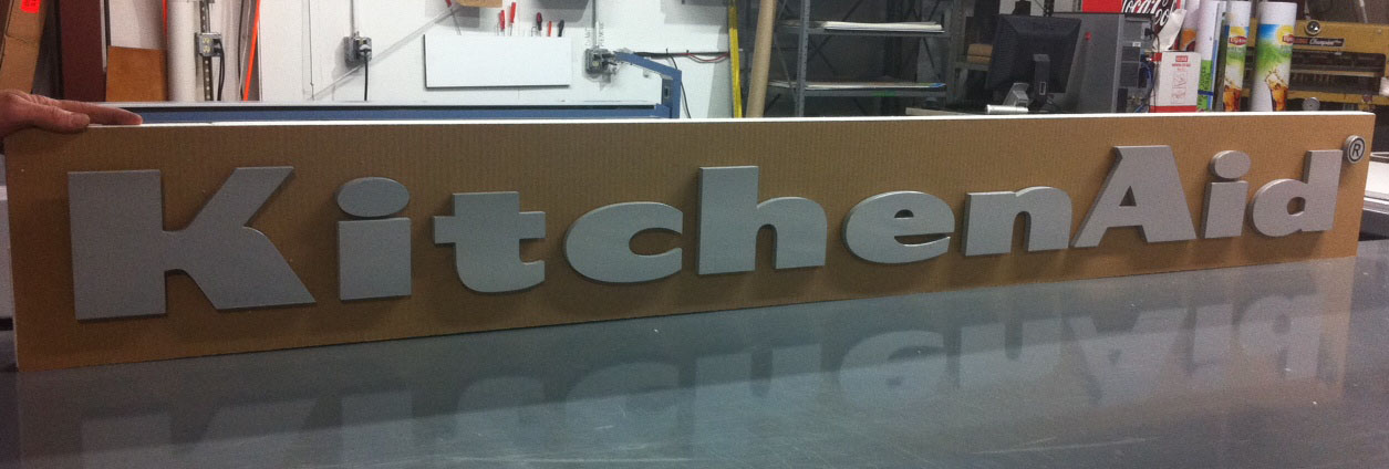 """Dimensional Signage – """"POP"""" Out From the Crowd!"""