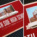 High School Reunion Postcard Design