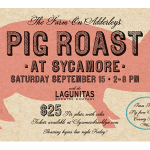 Pig Roast Postcard Design