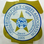 Ohio Retired Police Chiefs Association Window Cling