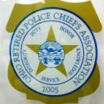 Ohio Retired Police Chiefs Association Window Cling