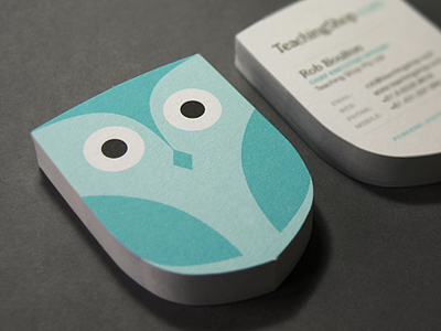 Business cards todays relevance and importance die cut owl business cards colourmoves