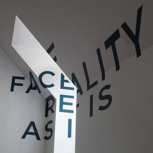anamorphic type by graphic designer thomas quinn source side view - Wall Graphic Designs