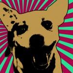 Lichtenstein Pop Art Filter on Canvas Print
