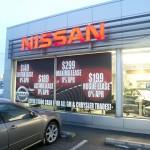Nissan Window Cling