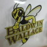 Baldwin Wallace Window Cling