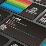 QR Contact Business Card