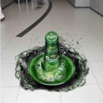 Beverage 3D Floor Graphics